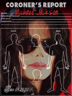 杰克逊尸检报告宣布他杀四大证据直指私人医生