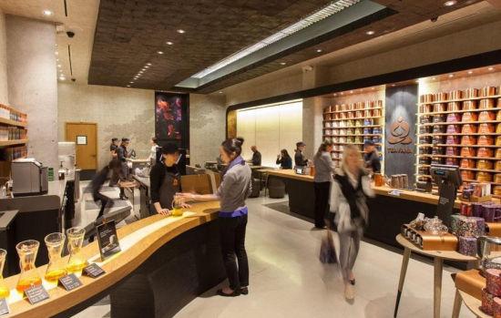 分羹900亿?星巴克纽约高调开设首家中国茶店 星巴克 中国 纽约 新浪时尚 新浪网