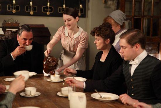 Sharon Small Downton Abbey 唐顿庄园教我们�...