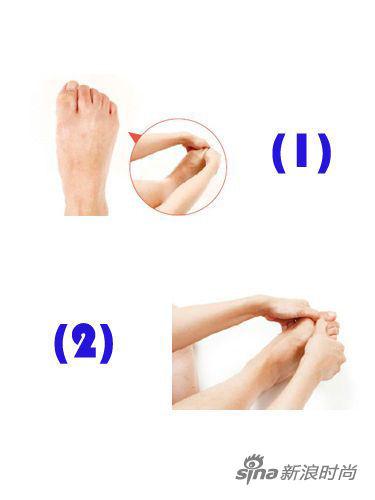 快速瘦腿的_10分钟脚部按摩 快速消除浮肿轻松瘦腿 脚趾 手指 脚踝_新浪时尚 ...