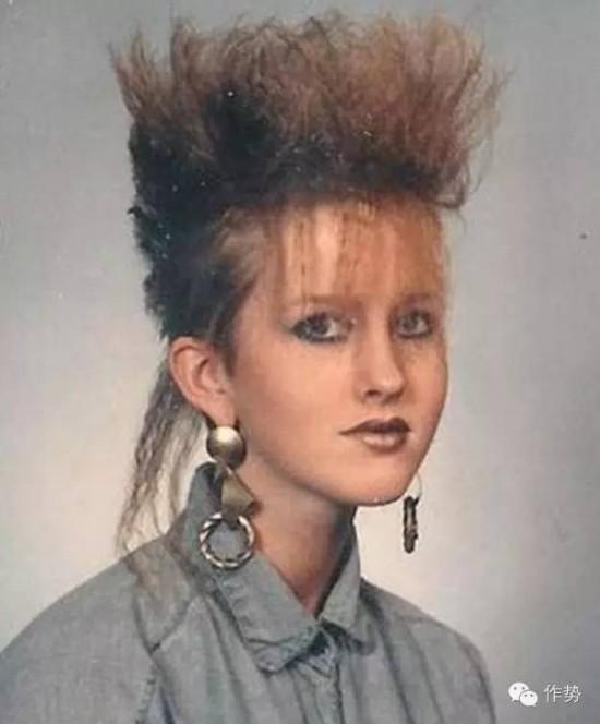 80年代的時髦發型嚇死寶寶了圖片