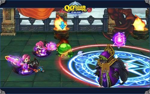 qq仙境刷图_《qq仙境》争夺最强首杀 龙王之战邀你加入