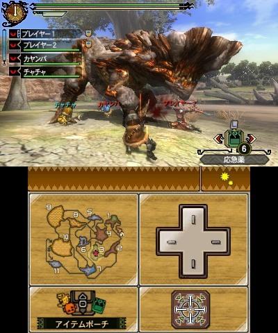 怪物猎人3g长枪配装_《怪物猎人3G》发售日公布 首支预告_电视游戏_新浪游戏_新浪网