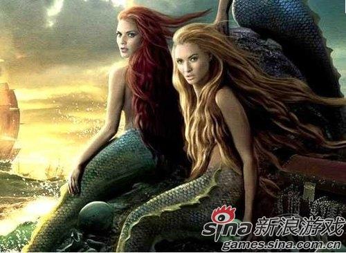 电影美人鱼_盘点电影和游戏里那些美人鱼(1)