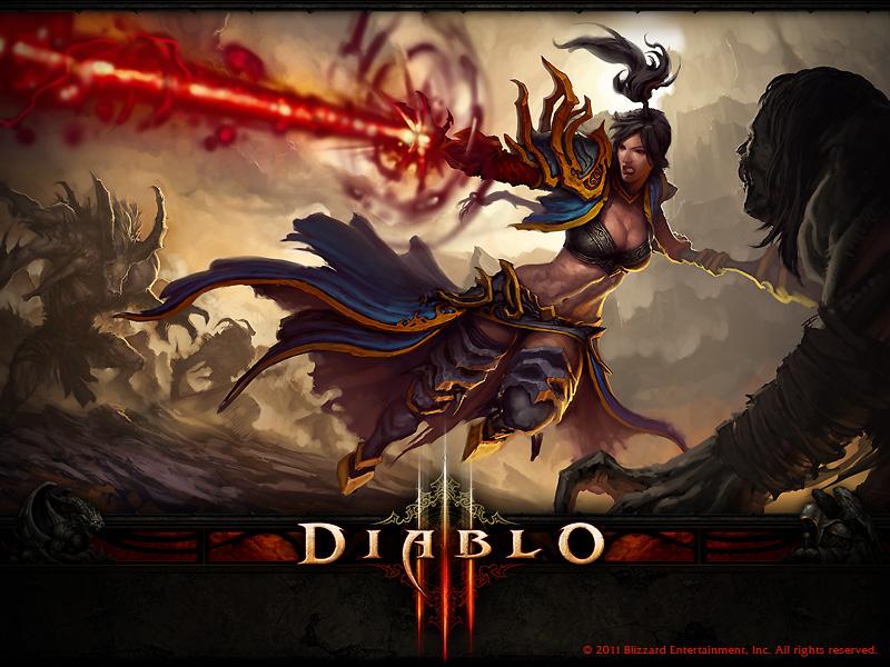 暗黑破坏神2地图_《暗黑3》壁纸:法师_暗黑破坏神3_Diablo3_台服中文版_d3技能符文 ...