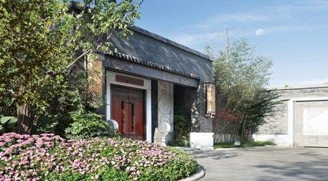 中式別墅門頭設計