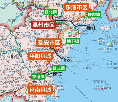 温州苍南龙港地图_温州苍南龙港地图-