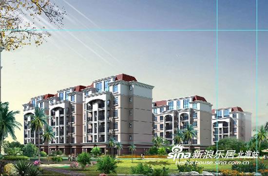 占地面积约72亩,是集7栋高层公寓,6栋多层情景洋房,大型中心花园为
