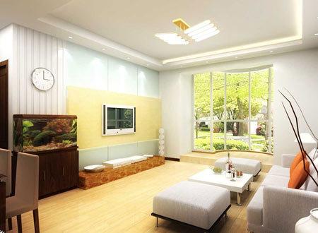 简约家居装饰效果图_简约风格装修效果图 客厅背景墙的设计搭配 _新浪家居