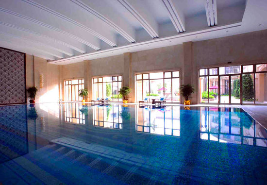 室內恒溫泳池實景圖