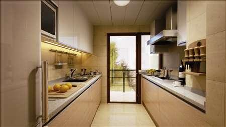 嘉里桦枫居精装修厨房效果图