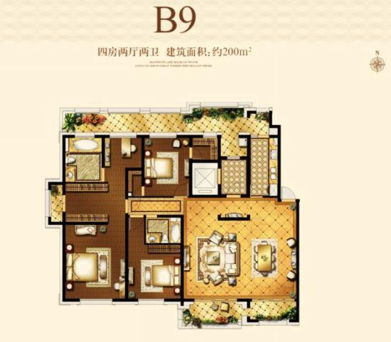 平?9?+?.?9.b9?#??'_户型 户型图 平面图 550_482