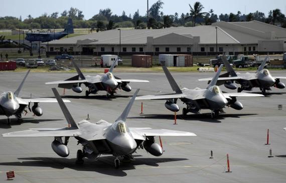 美军F22猛禽战机将重返日本基地预计驻扎3个月