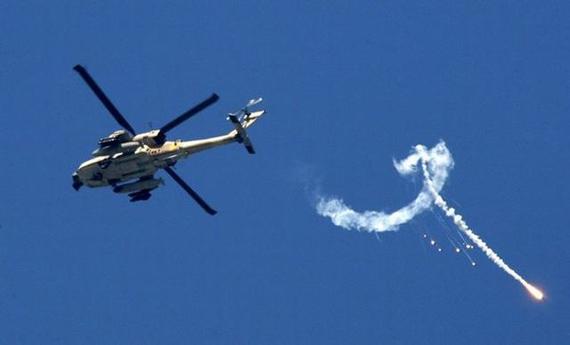 哈马斯称卡桑旅武装击落1架以军直升机(图)