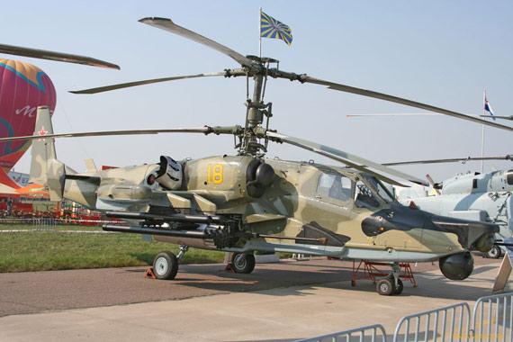 单座型卡-50攻击直升机