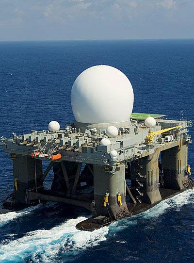 美反導系統海基預警雷達