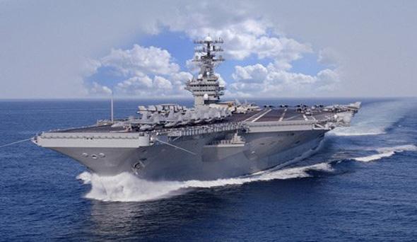 美國海軍CVN-78航母效果圖。