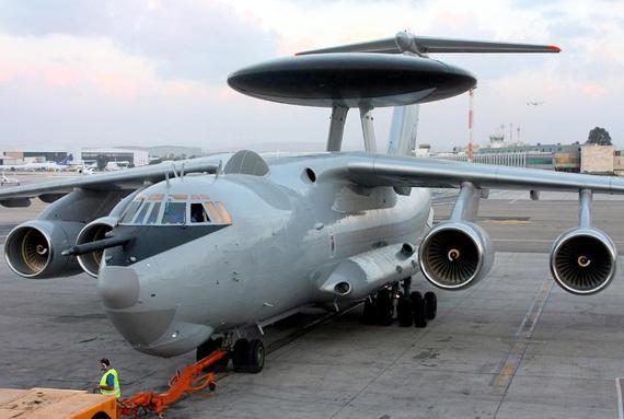資料圖:印度訂購的俄羅斯A-50EI預警機