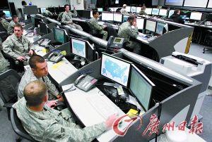 资料图:美彼得逊空军基地的网络部队