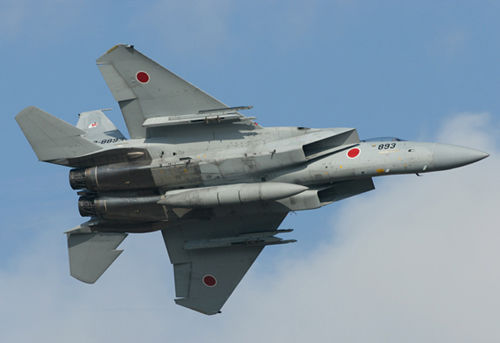 Okinawa, Japan, F-15 fighter jets scrambled to intercept foreign