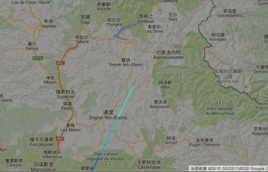 4U9525航班失事�^域