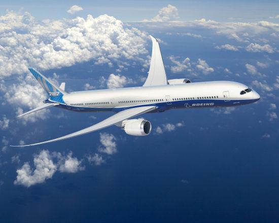 波音787-10可以覆�w全球90%以上的�p通道�w�C航�