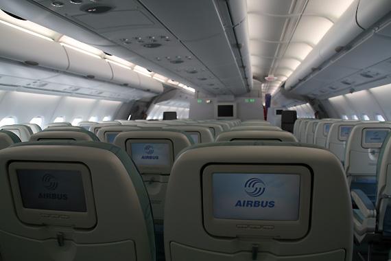 圖文:a380經濟艙座位娛樂系統圖片