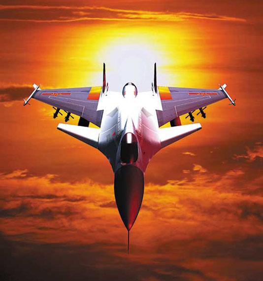 中国空军07飞行标志图片_图文:中国空军单发第五代战机效果图_新浪军事_新浪网