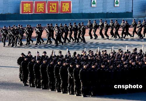 北京市房产局电话_图文:北京市公安局巡特警总队反恐队伍_新浪军事_新浪网