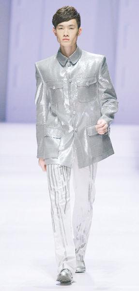 张杰新浪_中国男人专属中山装_尚品频道_新浪网