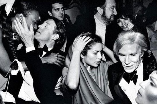 1970年代Andy Warhol在紐約曼哈頓Studio 54