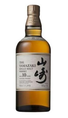 山崎大纪作品_山崎单一麦芽10年威士忌 350元