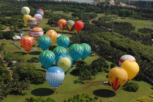 中国热气球_HI中国热气球挑战赛系留表演(3)_新浪尚品_新浪网