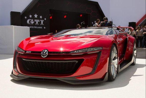 大眾GTI Roadster敞篷概念跑車