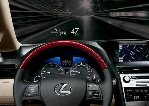 hud抬头显示器_汽车最新科技之 车载平视显示器HUD系统(组图)_新浪汽车_新浪网