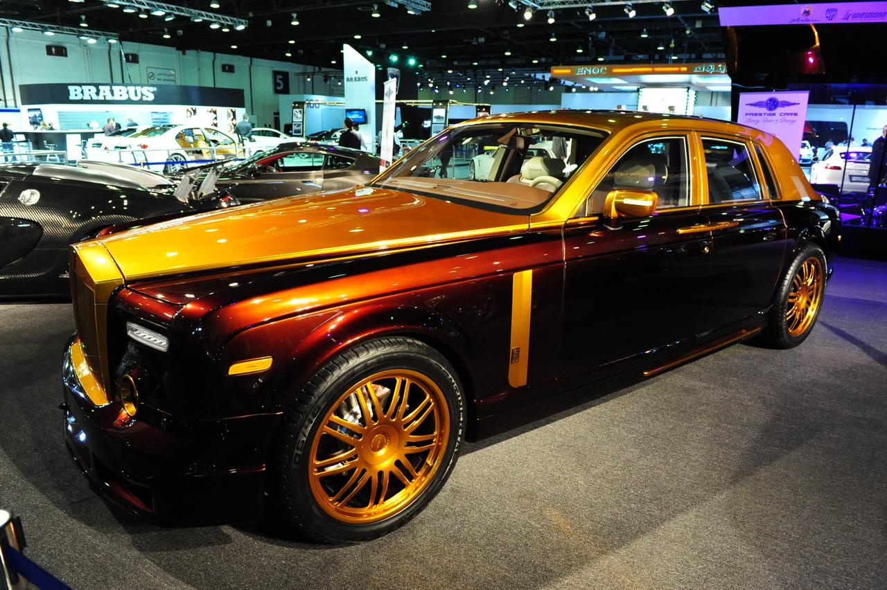迪拜黄金车_2009阿联酋-迪拜国际车展改装车实拍图片