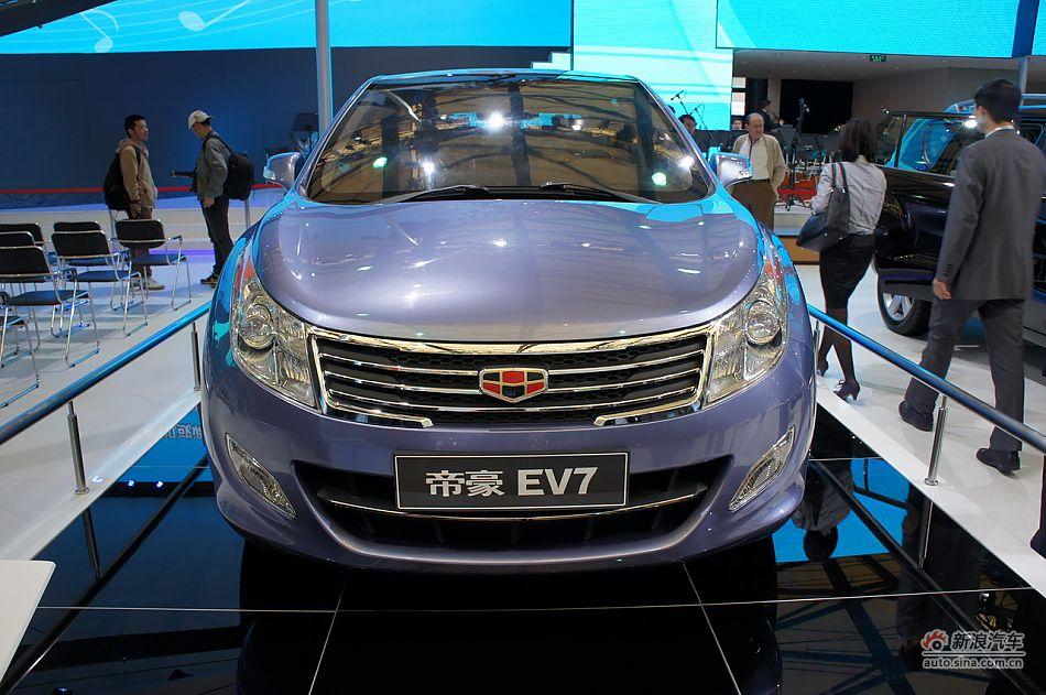 帝豪ev7_吉利帝豪EV7上海车展首发 搭1.0T+7DCT-手机新浪汽车