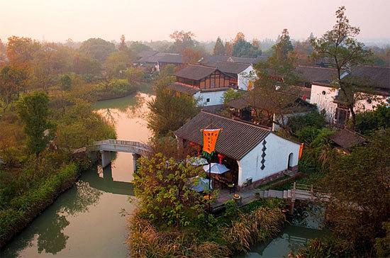 新浪旅游配圖:西溪濕地美景 攝影:銹劍