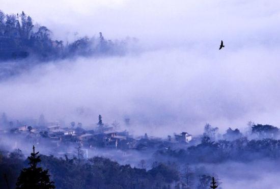 云霧繚繞的世界