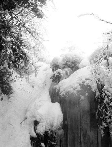 冬季瓦屋山 每一�都有�L景