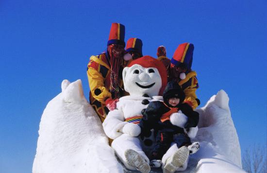 冬季冰雪嘉年华 来源:魁北克省旅游局