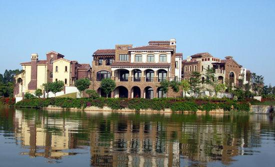 广州清远狮子湖国际高尔夫球度假俱乐部球场介绍