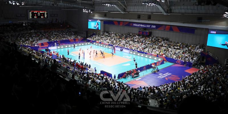 2019世界女排聯賽 中國3-0橫掃塞爾維亞問鼎北侖站冠軍