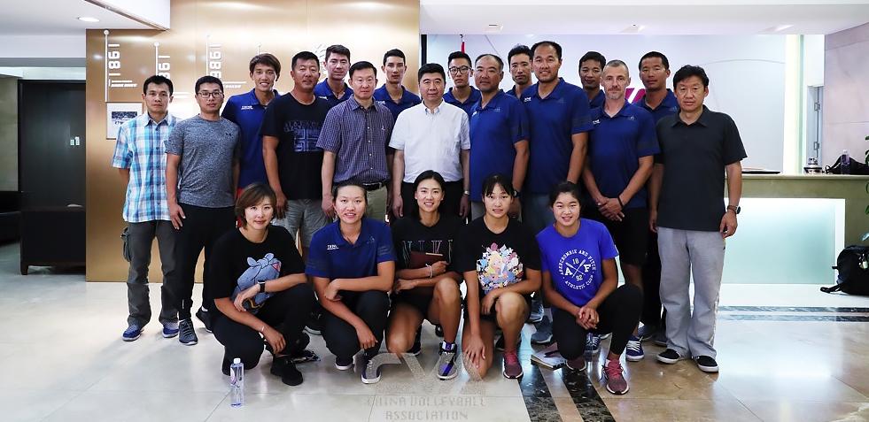 國家沙灘排球隊召開東京奧運會倒計時一周年部署動員會議