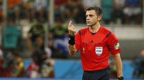 巴萨欧冠战巴黎主裁判揭晓 世界杯决赛金哨执法焦点战