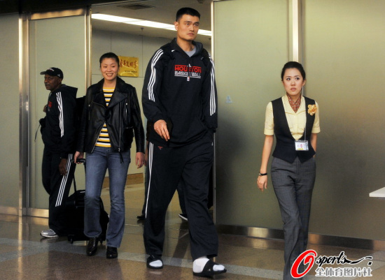 Yao Ming Mania! • View topic - The 2010 China Game (10/13 ...