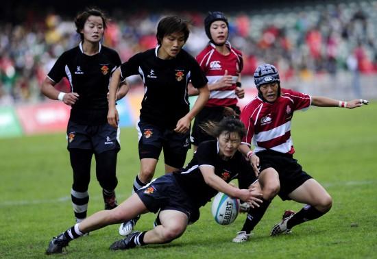 日本人体艺术五月婷婷_图文-橄榄球中国女队胜日本夺冠 刘婷婷积极拼抢