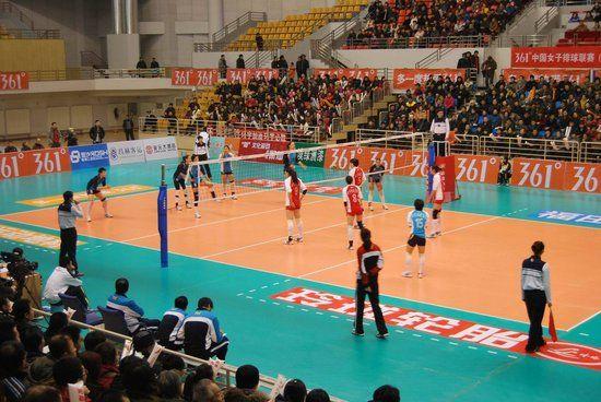六人排球全場站位圖_排球六個位置介紹